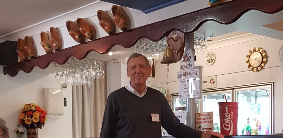 Dutch Club Richlands President Tony Jansen